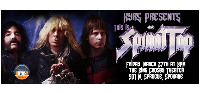 Tap Into KYRS! Special Screening of Spinal Tap at The Bing