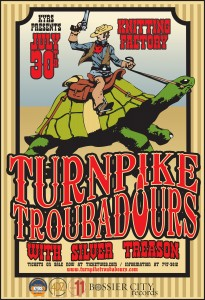 KYRS Presents: Turnpike Troubadours with guest Silver Treason at the Knitting Factory @ The Knitting Factory Concert House, Spokane