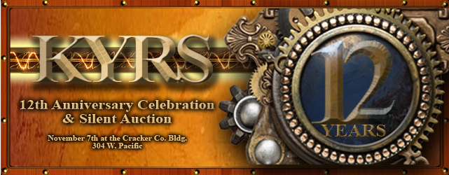 KYRS 12th Anniversary Celebration & Silent Auction Nov. 7th
