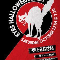 KYRS Halloween Bash, October 27th