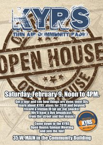 KYRS Open House/Annual Meeting