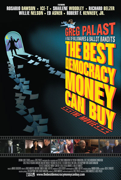 KYRS Tuesday Night at the Movies Presents: The Best Democracy Money Can Buy, a film by Greg Palast @ Magic Lantern Theater