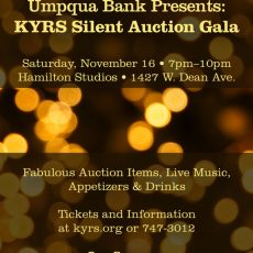 Umpqua Bank Presents: The KYRS Silent Auction Gala