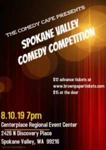 Spokane Valley Comedy Competition