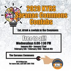 KYRS 2020 Saranac Commons Confabs